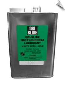 DRI-SLIDE® MULTI-PURPOSE LUBRICANT, 1 gallon can, case of 6